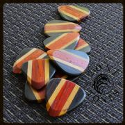 Zone Tones - Padauk - 1 Guitar Pick | Timber Tones